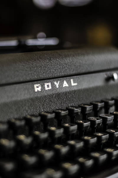 Photograph - Royal Typewriter #19 by Chris Coffee
