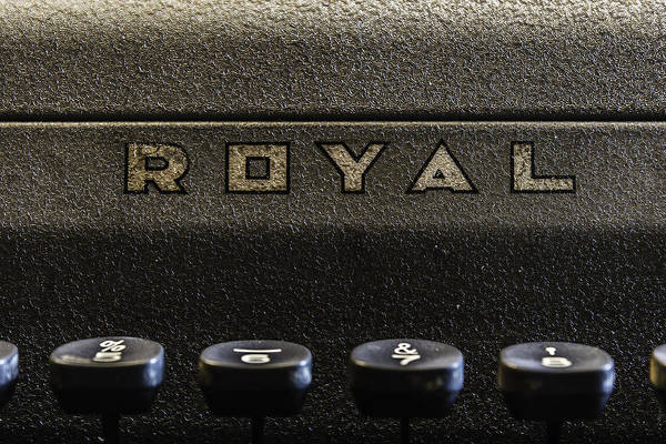 Photograph - Royal Typewriter #3 by Chris Coffee