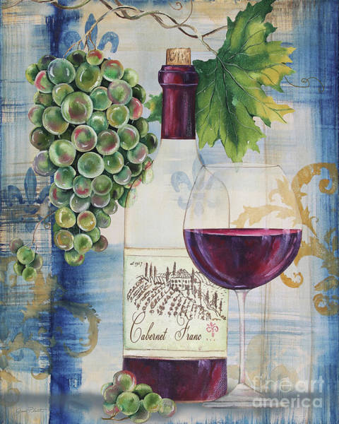 Booze Wall Art - Painting - Royal Wine-a by Jean Plout