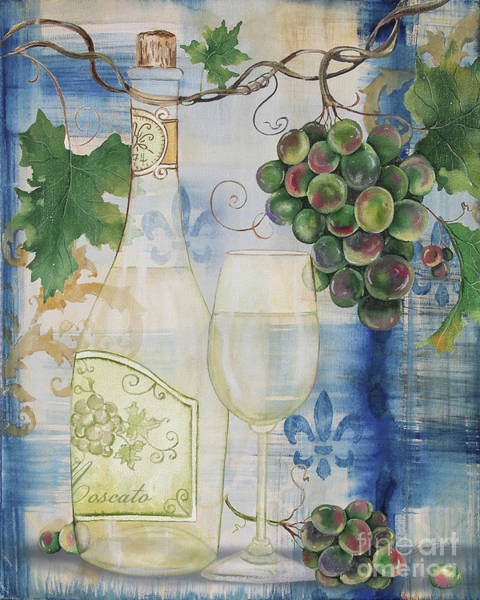 Booze Wall Art - Painting - Royal Wine-b by Jean Plout