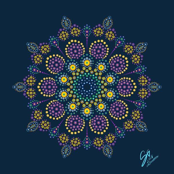 Digital Art - Royalty In Blue by Lisa Schwaberow
