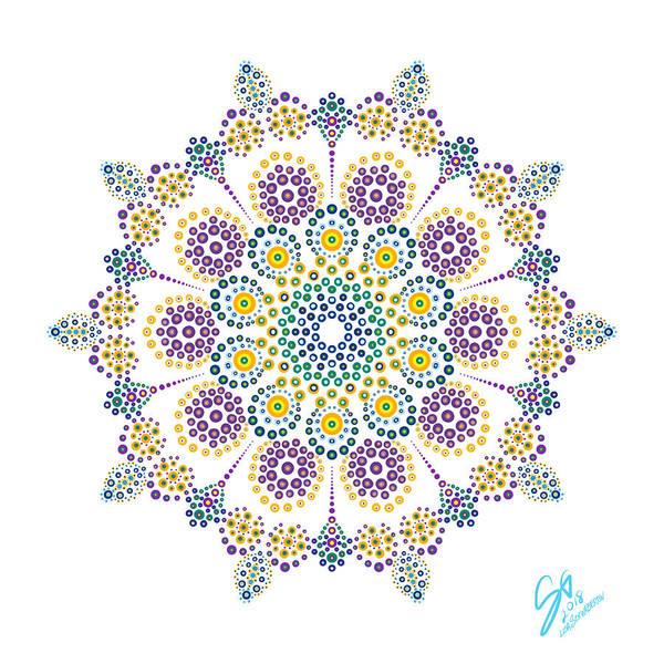 Digital Art - Royalty In White by Lisa Schwaberow