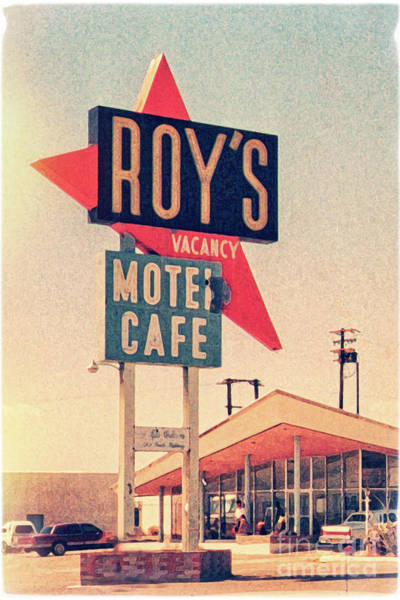 Nostalgia Digital Art - Roy's Motel by Delphimages Photo Creations