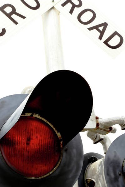 Rr Photograph - Rr Crossing by Karol Livote