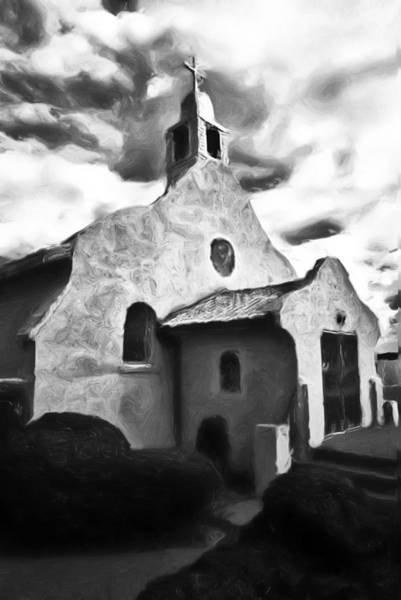 Painting - Rt 4 Church by Lou  Novick