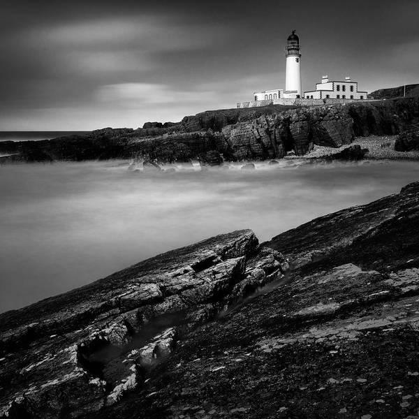 Photograph - Rua Reidh Lighthouse by Dave Bowman
