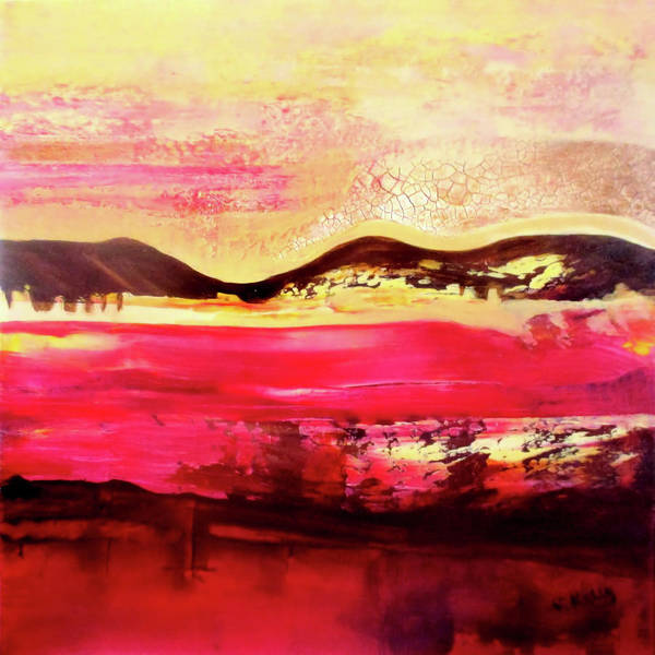 Painting - Rubellite By V.kelly by Valerie Anne Kelly