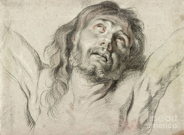 Wall Art - Drawing - Rubens, Christ.  by Granger