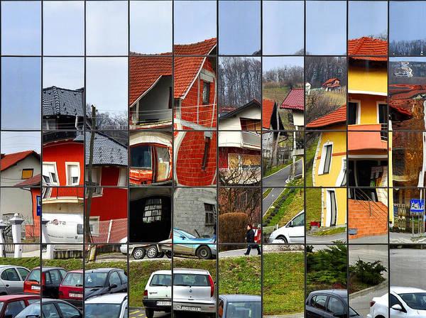Town Wall Art - Photograph - Rubik's Town by Samanta
