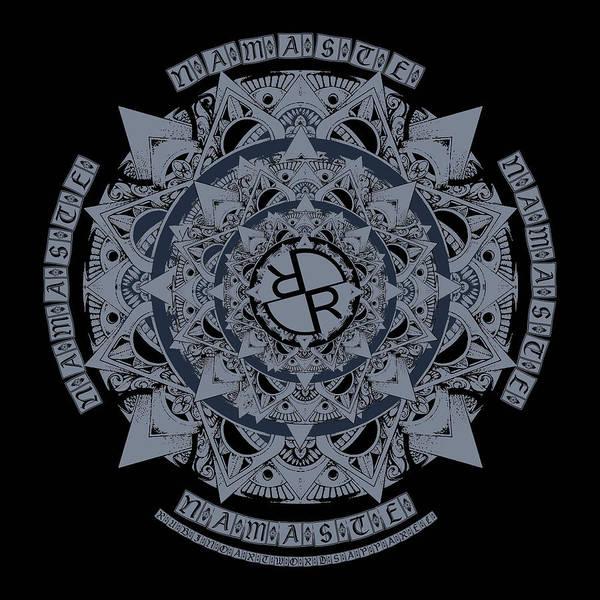 Mixed Media - Rubino Namaste by Tony Rubino