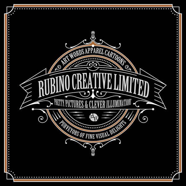 Mixed Media - Rubino Vintage Sign by Tony Rubino