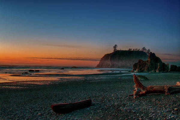 Photograph - Ruby Beach Sunset by Mary Jo Allen
