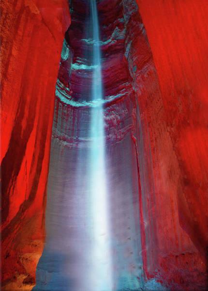 Caverns Photograph - Ruby Falls by Art Spectrum
