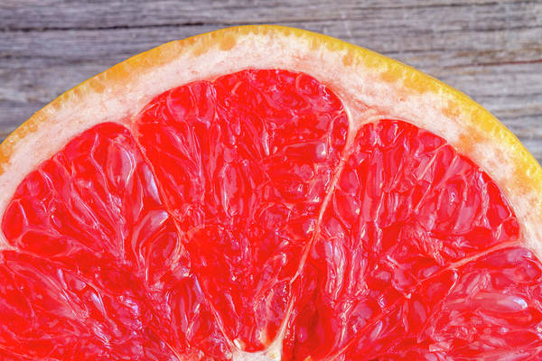Photograph - Ruby Red Grapefruit by Teri Virbickis