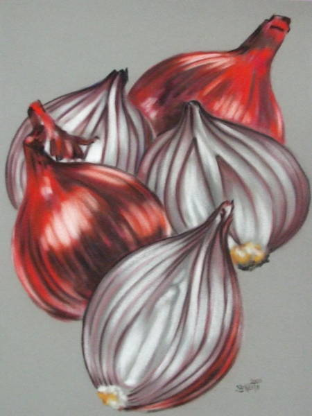 Pastel - Ruddy by Barbara Keith