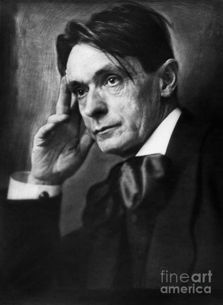 Wall Art - Photograph - Rudolf Steiner (1861-1925) by Granger