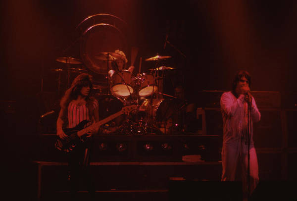 Photograph - Rudy Sarzo Tommy Aldridge And Ozzy by Rich Fuscia