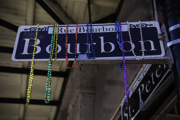 Bourbon Street Wall Art - Photograph - Rue Bourbon by Garry Gay