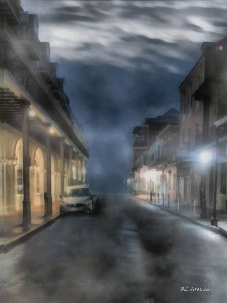 Painting - Rue Brumeuse by RC DeWinter