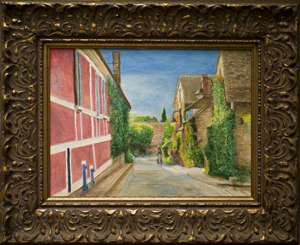 Painting - Rue Claude Monet by Kathy Knopp