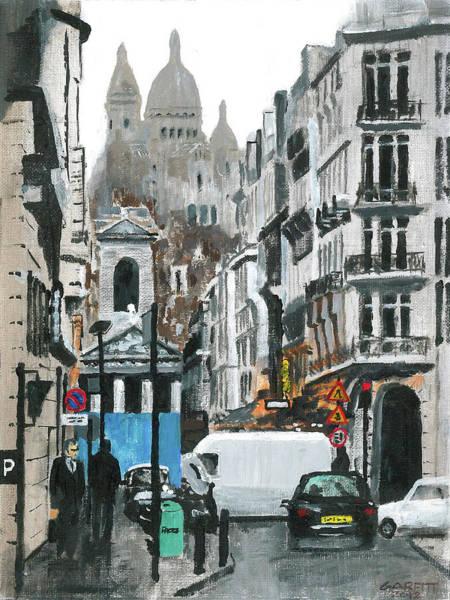 Rue Lafitte Art Print