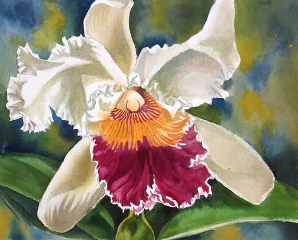 Painting - Ruffled Beauty by Alfred Ng
