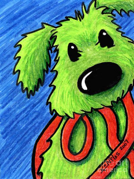 Rufus At The Ready Art Print