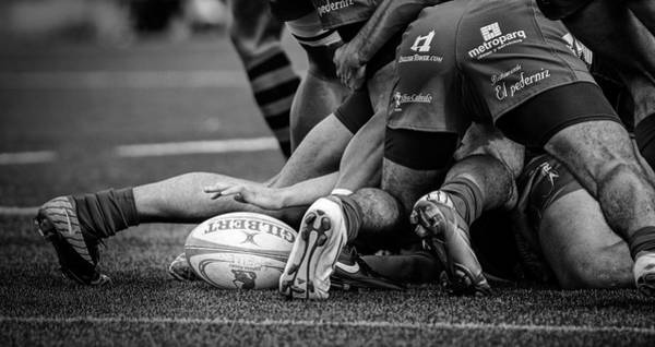 Cesar Wall Art - Photograph - Rugby by Cesar March