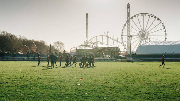 Photograph - Rugby In Hyde Park, London by Alexandre Rotenberg