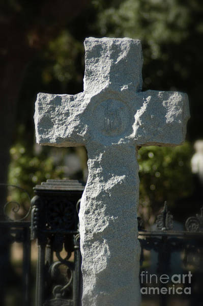 Photograph - Ruged Stone Cross by Dale Powell