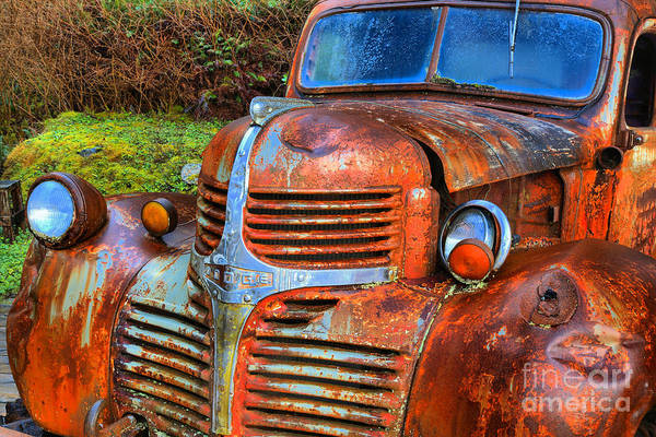 Photograph - Rugged And Rusty by Adam Jewell
