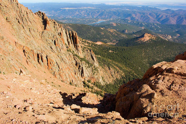 Photograph - Rugged Canyon On Pikes Peak by Steve Krull