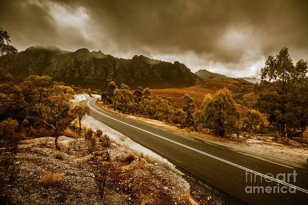 Winding Roads Photograph - Rugged Rural Retreats by Jorgo Photography - Wall Art Gallery