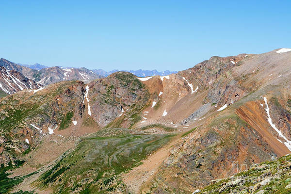 Photograph - Rugged Scenery On The The Mount Massive Trail by Steve Krull