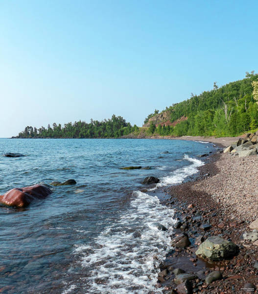 Photograph - Rugged Shoreline by Sally Sperry