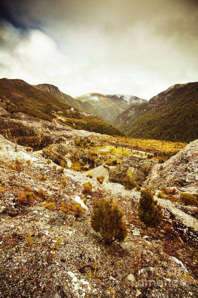 Remote Photograph - Rugged Valley Wilderness by Jorgo Photography - Wall Art Gallery