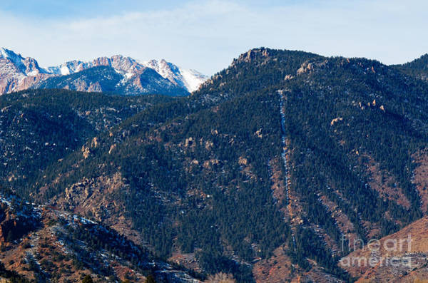 Photograph - Rugged View Of The Manitou Incline by Steve Krull