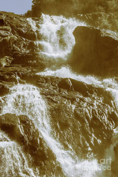 Wall Art - Photograph - Rugged Water Rapids by Jorgo Photography - Wall Art Gallery