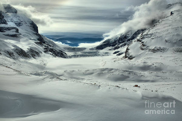 Photograph - Rugged Winter At The Athabasca Glacier by Adam Jewell