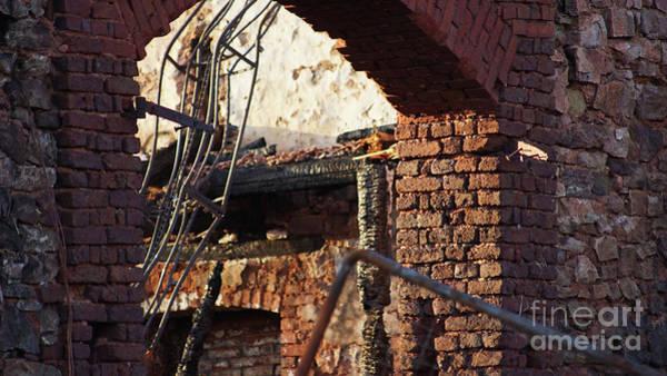 Photograph - Ruin After Big Fire  by Eva-Maria Di Bella