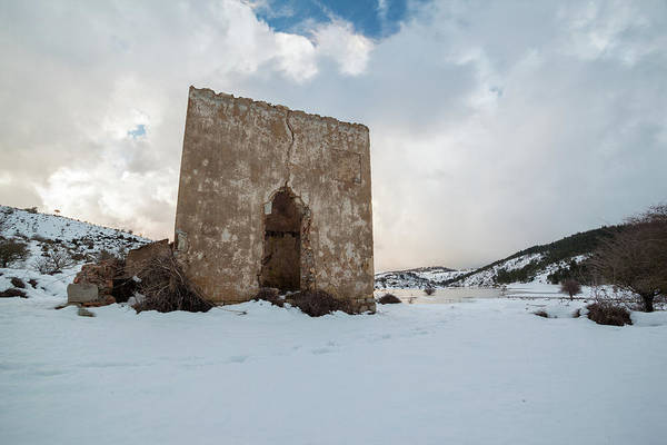 Photograph - Ruin On The Snow by Daniele Fanni