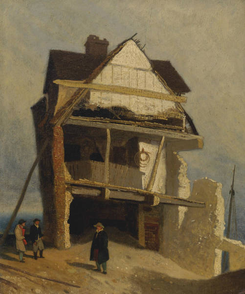 Painting - Ruined House  by John Sell Cotman