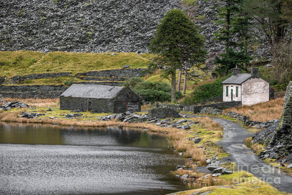 Photograph - Ruins At Cwmorthin by Adrian Evans