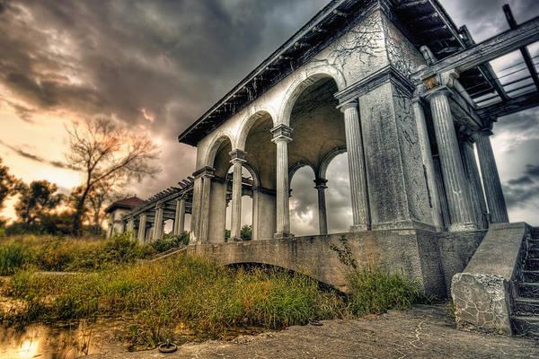 Photograph - Ruins At Dusk by Ryan Heffron