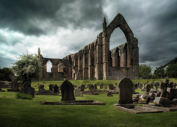 Famous Wall Art - Photograph - Ruins Of Bolton Abbey by Jaroslaw Blaminsky