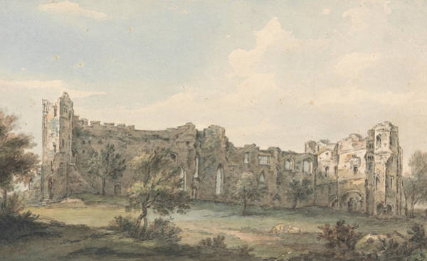 Painting - Ruins Of Newark Castle by Paul Sandby