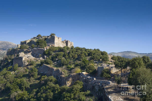 Crumble Photograph - Ruins Of Nimrod Fortress by Noam Armonn