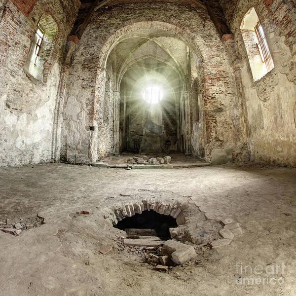 Wall Art - Photograph - Ruins Of The Augustinian Monastery, Pivon, Czech Republic  by Michal Boubin