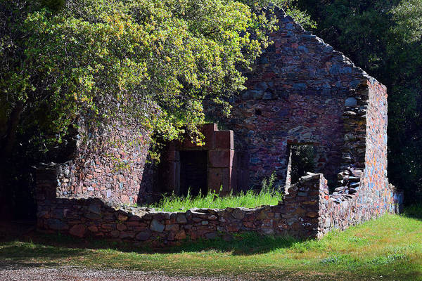 Photograph - Ruins Of The Cherokee Gold Assayers Office by Frank Wilson