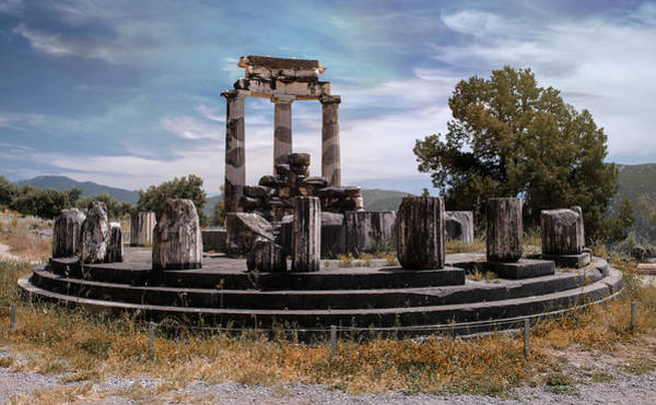 Photograph - Ruins Of Tholos by Jaroslaw Blaminsky